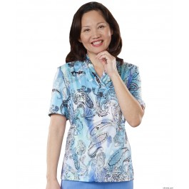 Adaptive Top For Women - Terrific For The At Home Caregiver