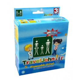 Travel John Disposable Urinary Pouch - Juvenile