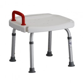 Bath Seat With Red Safety Handle
