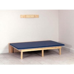 Wall Mounted Folding Mat Platform 4'W x 7'L x 18 H