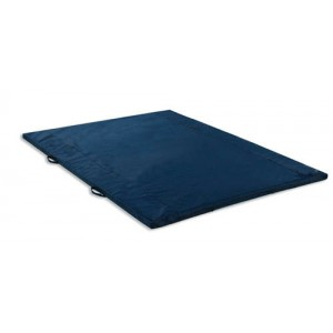 Exercise Mat 2 Thick Grey With Handles Non-Folding 4' X 6'
