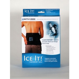 Ice It! ColdComfort System X-Large 9 x 20