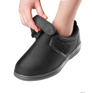 Diabetic VELCRO Shoes Washable Extra Wide With VELCRO Brand Straps