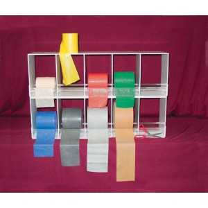 CanDo Exercise Band Storage & Dispensing Rack - Duplex