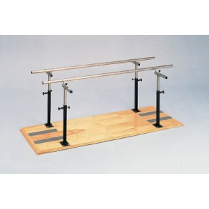 Platform Mounted Parallel Bars 12'