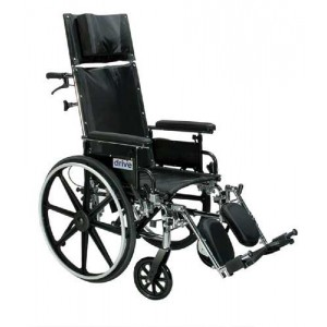 Viper Plus Reclining With C 12 Adjustable Hgt Flip Full Arms SEL