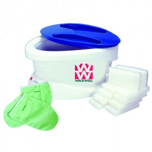 WaxWel Paraffin Unit With 6Lbs Unscented Wax