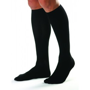 Jobst For Men 15-20 Knee High White Medium (Pair)