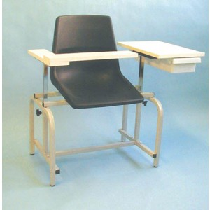 Blood Drawing Chair With Drawer