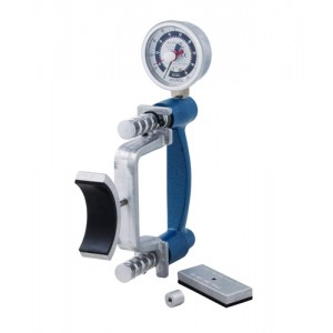 Grip Strength Dynamometer Lite With 3 Pads