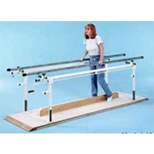 Parallel Bars 10' Crank Adjustable