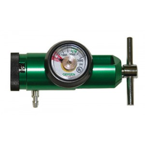 Oxygen Regulator for D/E Tanks 0-15 LPM (CGA870)