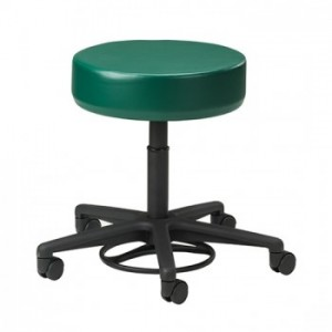Pneumatic Stool Without Back With 5-Leg Base Foot-Activated