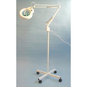 Magnifying Exam Lamp- 5 Diopter- Caster Base