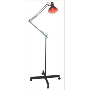 Infra-Red Lamp 275 Watts Wide Metal Stand With Wheels