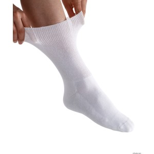 Womens Diabetic Socks - Diabetic Foot Edema Half Crew Socks