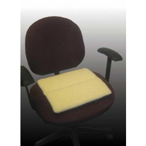 Fold & Carry Foam Cushion Fleece Covered