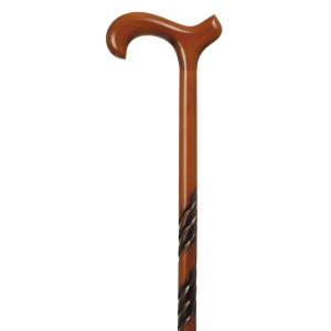 Cane Wooden Derby Cherry