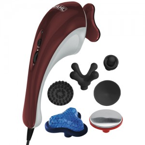 Hot-Cold Therapy Massager With 7 Head Attachments