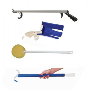 Hip Kit (4-piece) with 10607 Flexible Sock Aid
