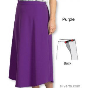 Womens VELCRO Wrap Skirts - Adaptive Arthritis Wrap Skirt With VELCRO Brand Strap
