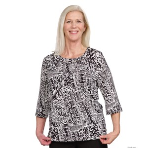 Attractive Fashionable Womens Adaptive Top - Handicapped Top For Women