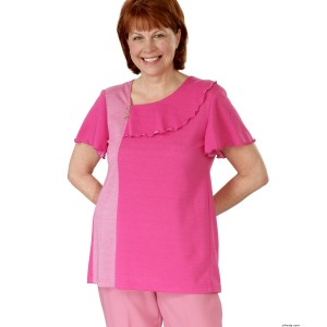 Adaptive Clothing For Women T-Shirt - Nursing Home Clothing