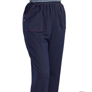 Casual Adaptive Wheelchair Jean Pants For Women - Disabled Adult Clothing