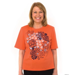 Fashionable Adaptive T-Shirt Top For Women - People With Disabilities