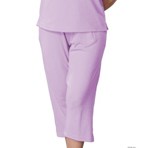 Adaptive Open Back Capri Wheelchair Pants For Women - Disabled Adults