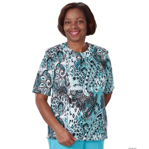 Adaptive Top For Women - Nursing Home Clothes Apparel