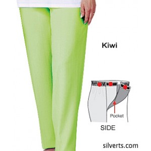 Open Side Pants With VELCRO Brand Fasteners