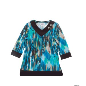 Adaptive Fashion Top For Women - Adaptive Care Apparel - Back Snap Tops