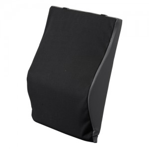 "Back Cushion Lumbar 18"" Black"