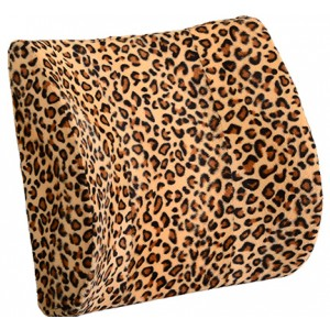 Lumbar Cushion- Leopard