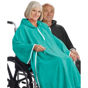 Unisex Terry Shower Cape For Women Or Men - Terry Poncho