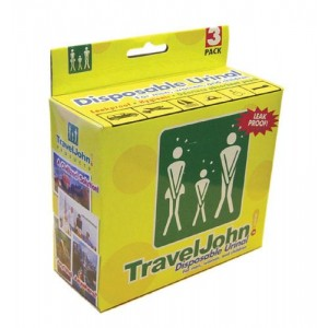 Travel John Disposable Urinary Pouch