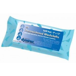 Washcloths - Premoistened & Disposable Refill Pack/64