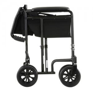 "Transport Chair 19"" Steel Black"