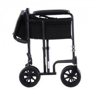"Transport Chair 19"" Lightweight Black"
