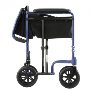 "Transport Chair 19"" Lightweight Blue"