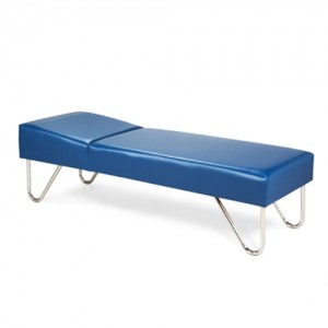 Chrome Leg Couch 72 L x 24 W x 18 H