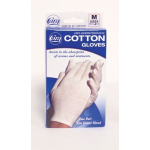 Cotton Gloves - White X-Large (Pair) Fits 9-1/2 - 10-1/2
