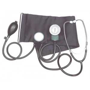 Aneroid Blood Pressure Kit With Stethoscope