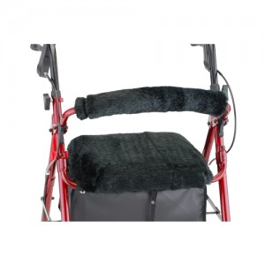 Seat & Back Cover For Rolling Walker Black Puma
