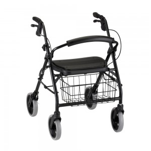 Cruiser Deluxe Roll Walker Black