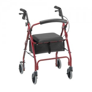 GetGo Classic Roll Walker Red