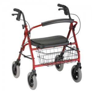 Mini Mack Rolling Walker Red