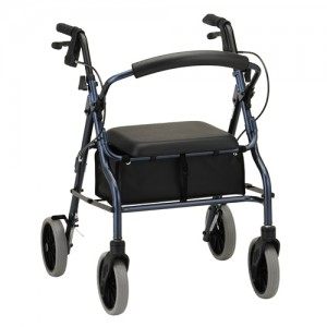 Zoom 20 Rolling Walker Blue