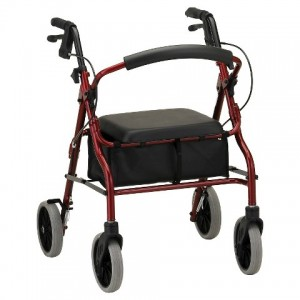 Zoom 20 Rolling Walker Red